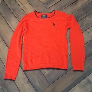 U.S. Polo Assn. Red Sweater
